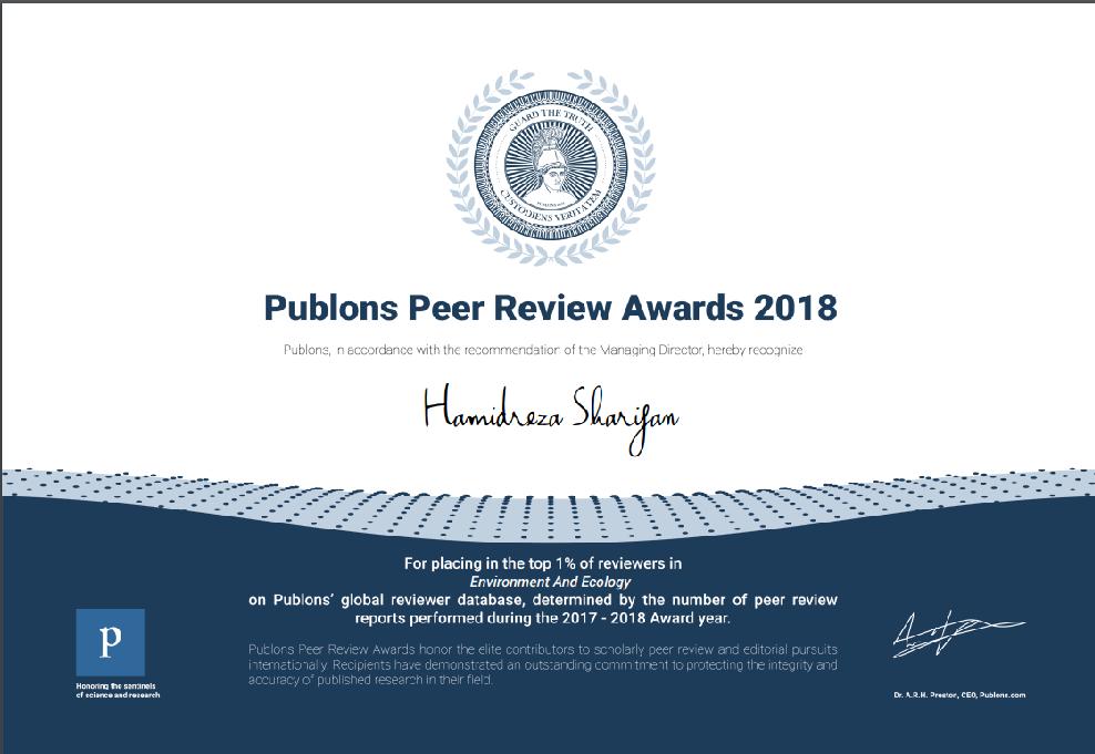 Publon-Award